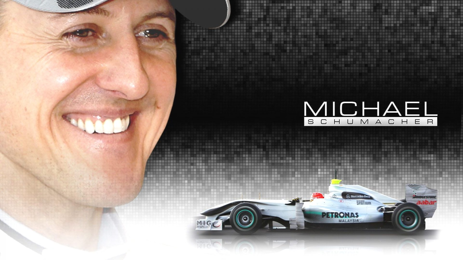 Michael Schumacher Racing Image