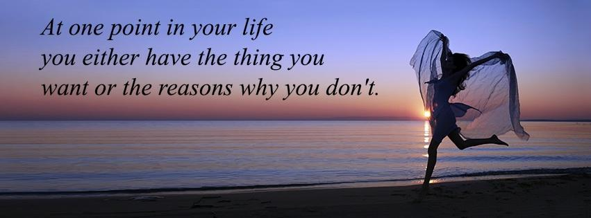 Life Quote FB Cover Photo