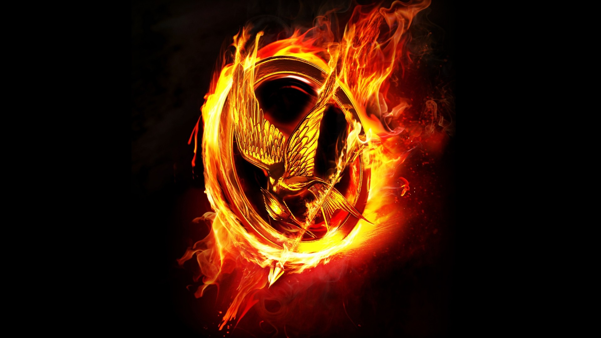 The Hunger Games Catching Fire Logo