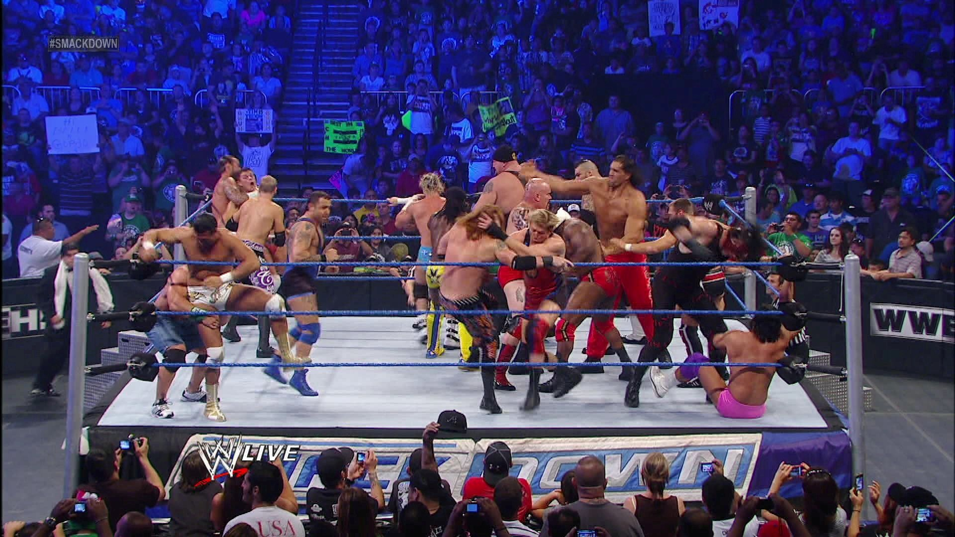 American Bash 20 Man Battle Royal in WWE All Superstar Fight