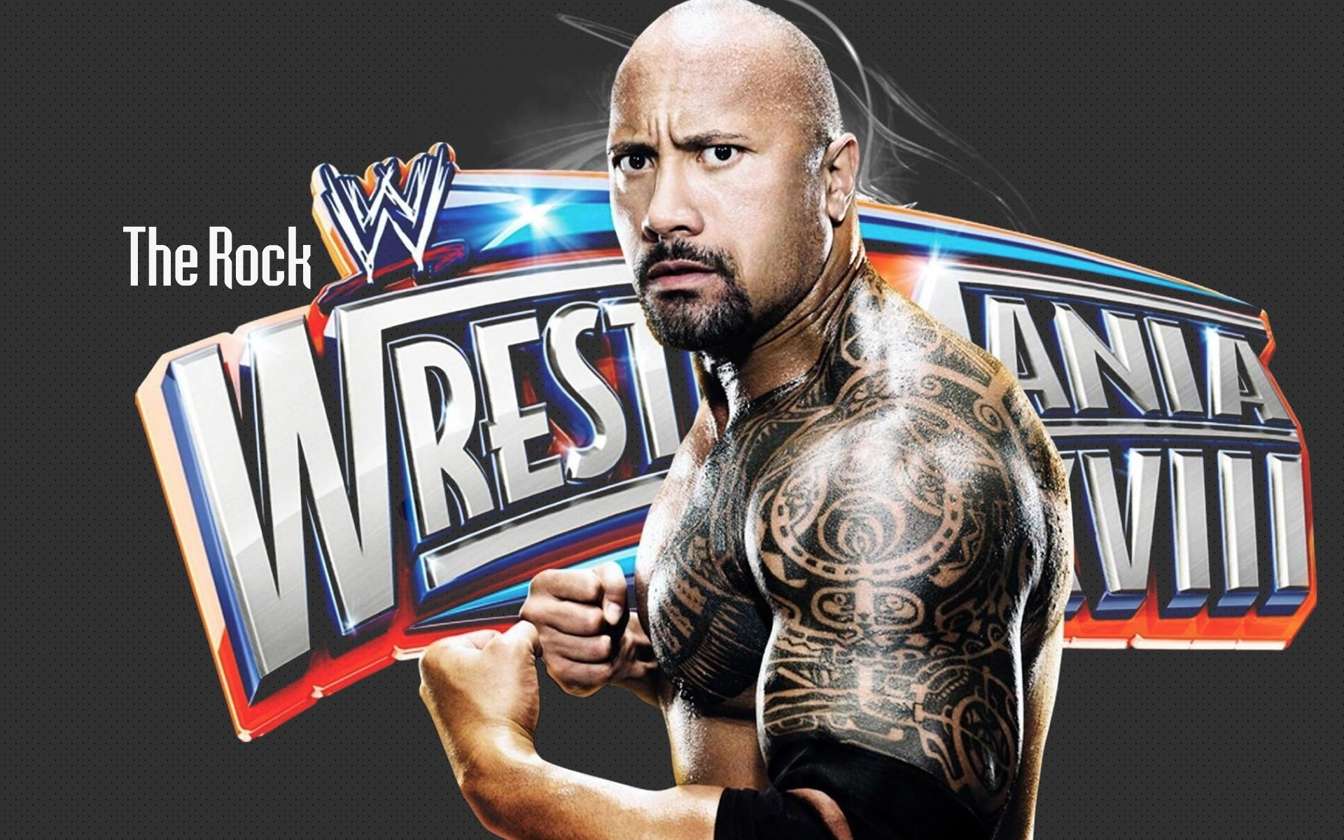 WWE Super Star The Rock in Wrestlemania