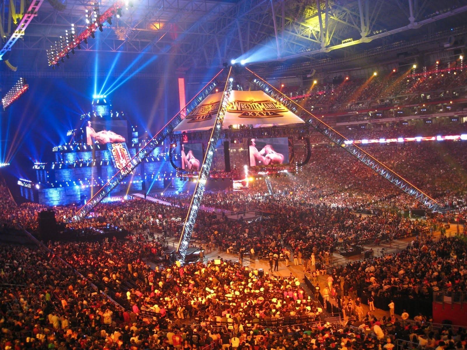 WWE Wrestlemania Stadium