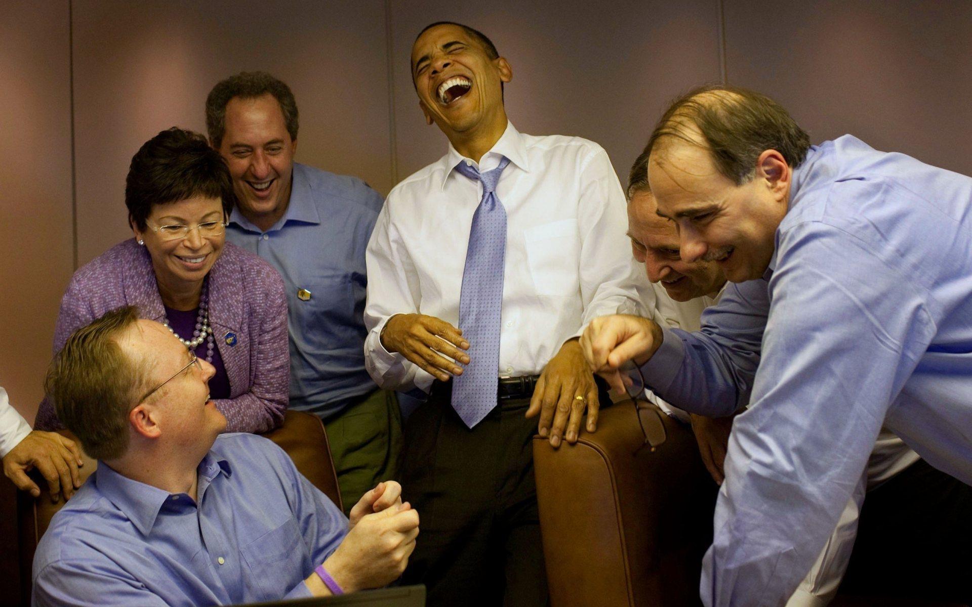 barack obama and friends