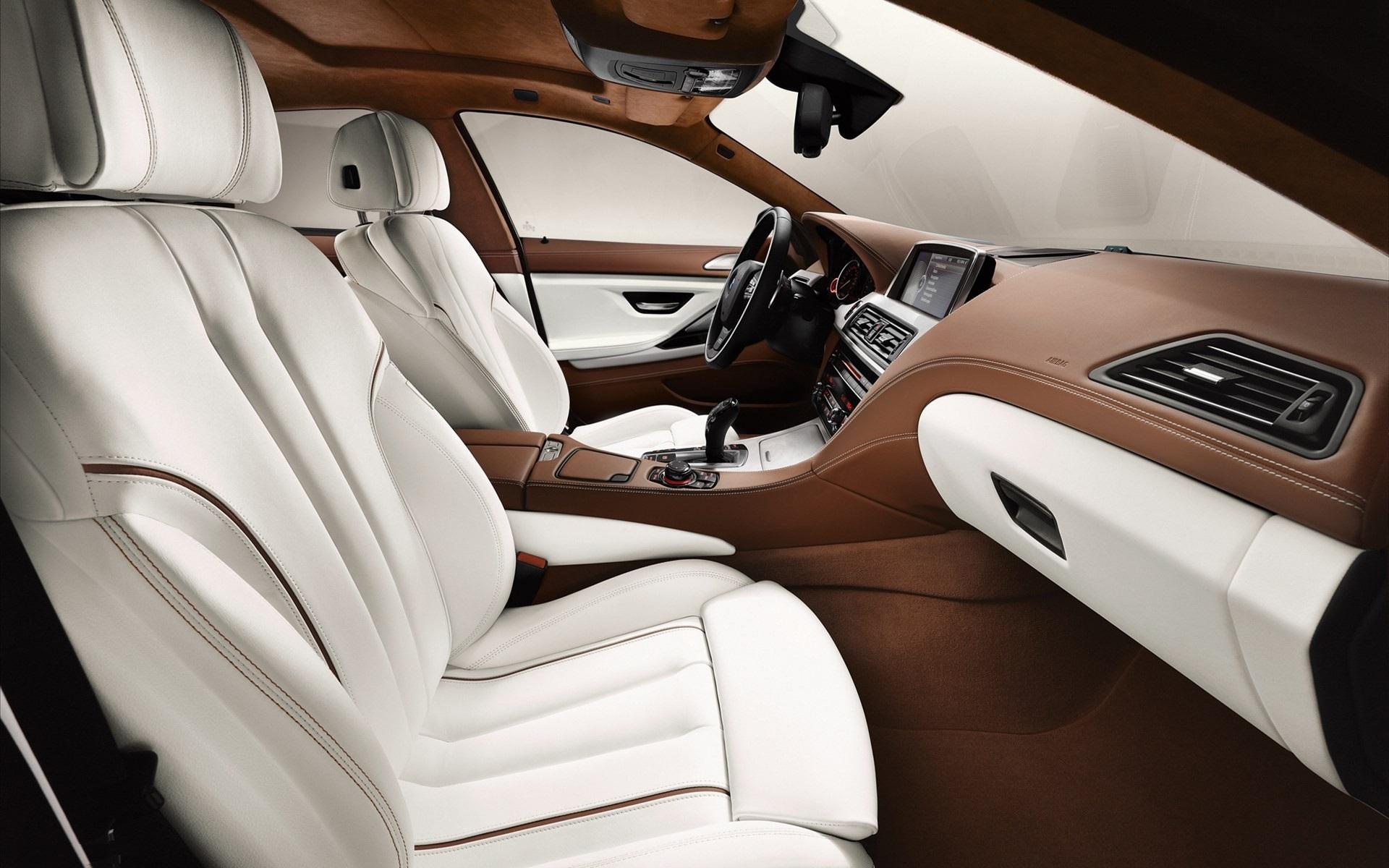 bmw 6 series 2013 interior