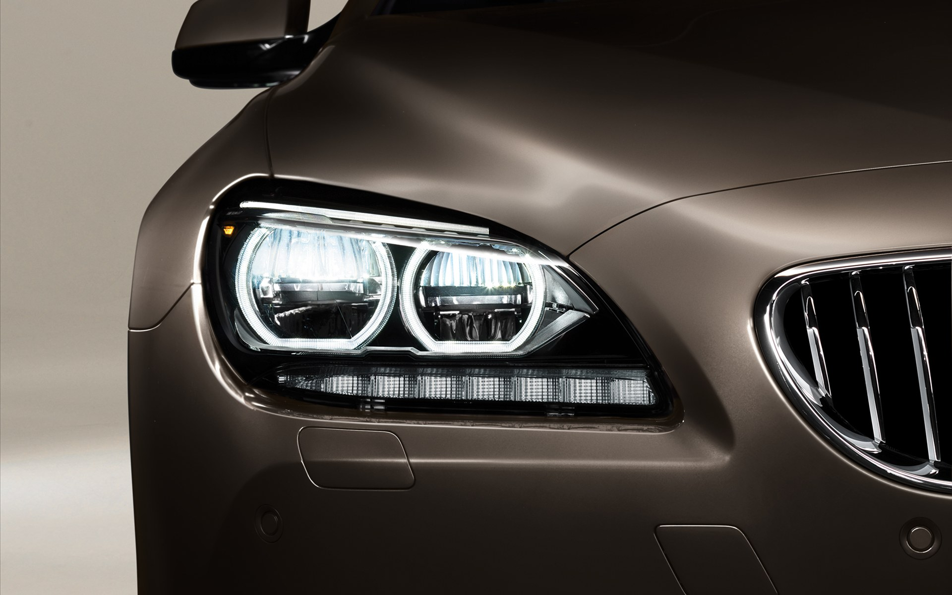 bmw 6 series gran coupe 2013 lights