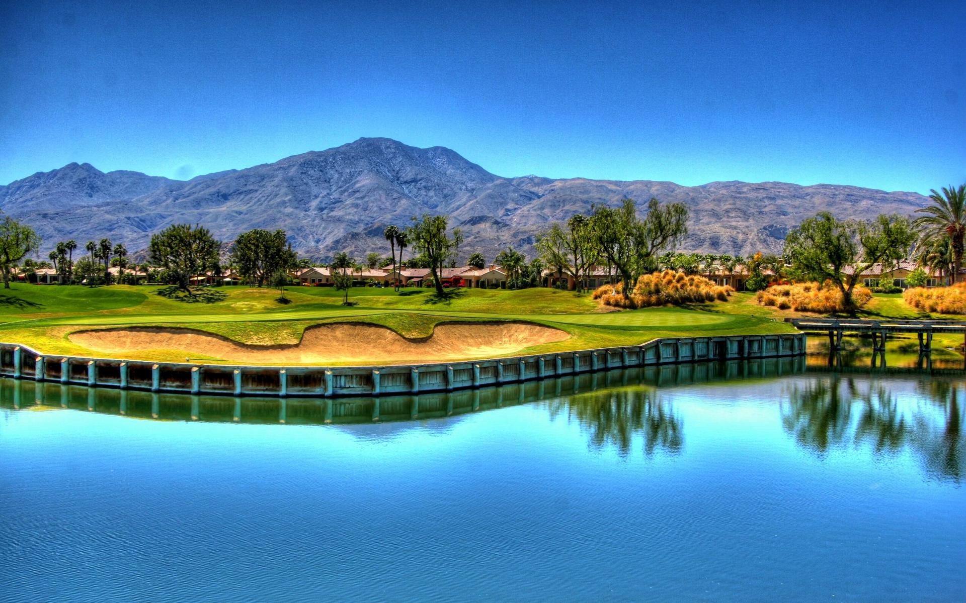 colorful golf course