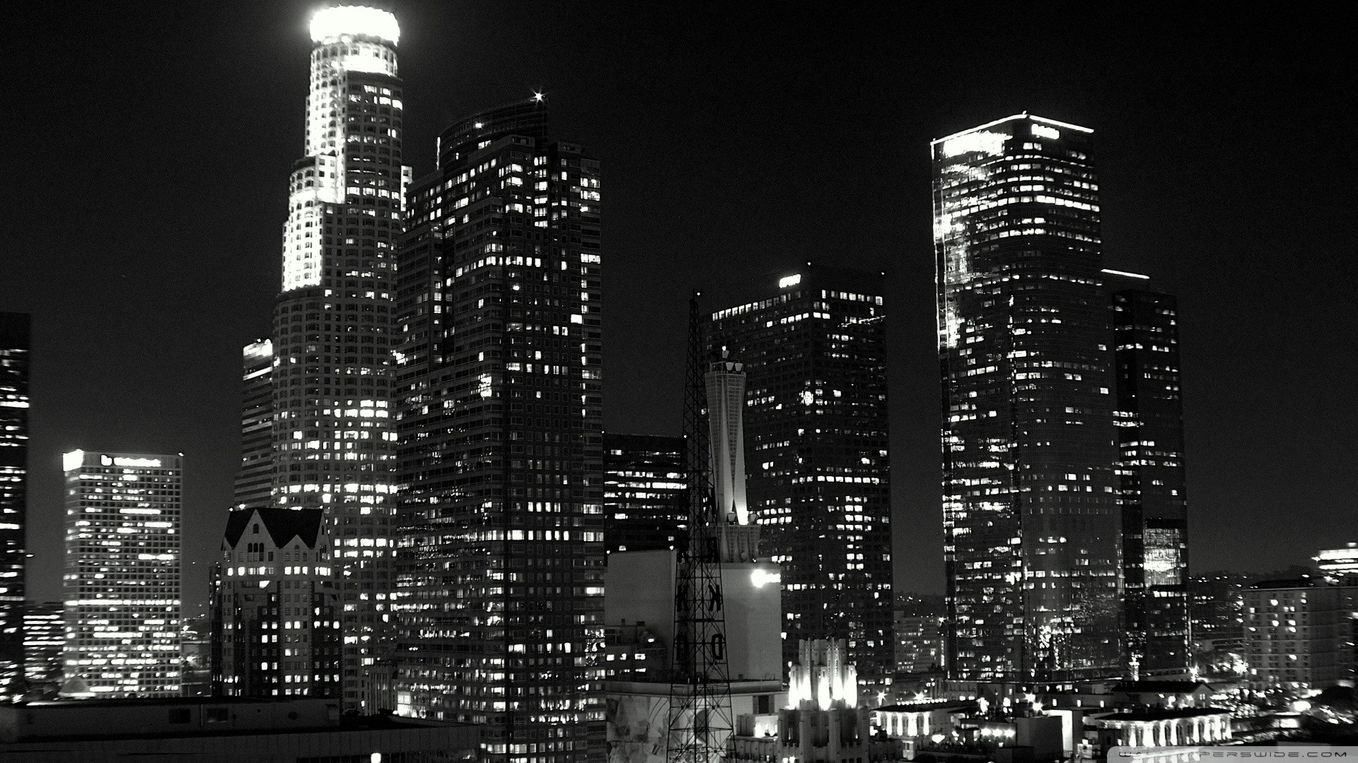 los angeles black and whitet