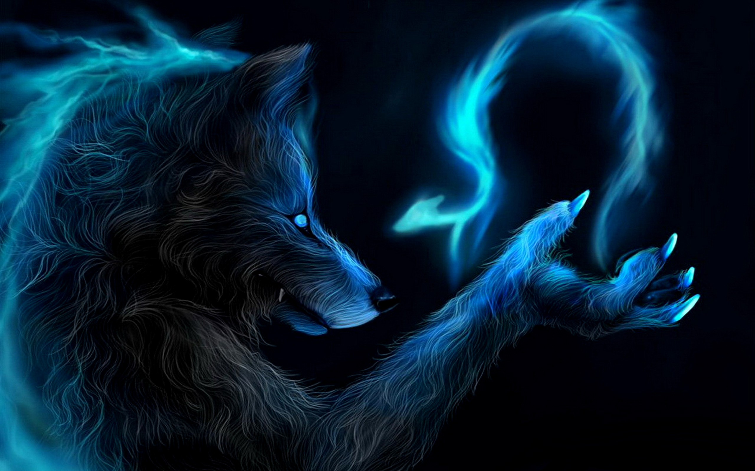 wolf fantasy cool photo