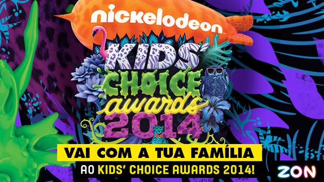 Kids Choice Awards 2014 poster