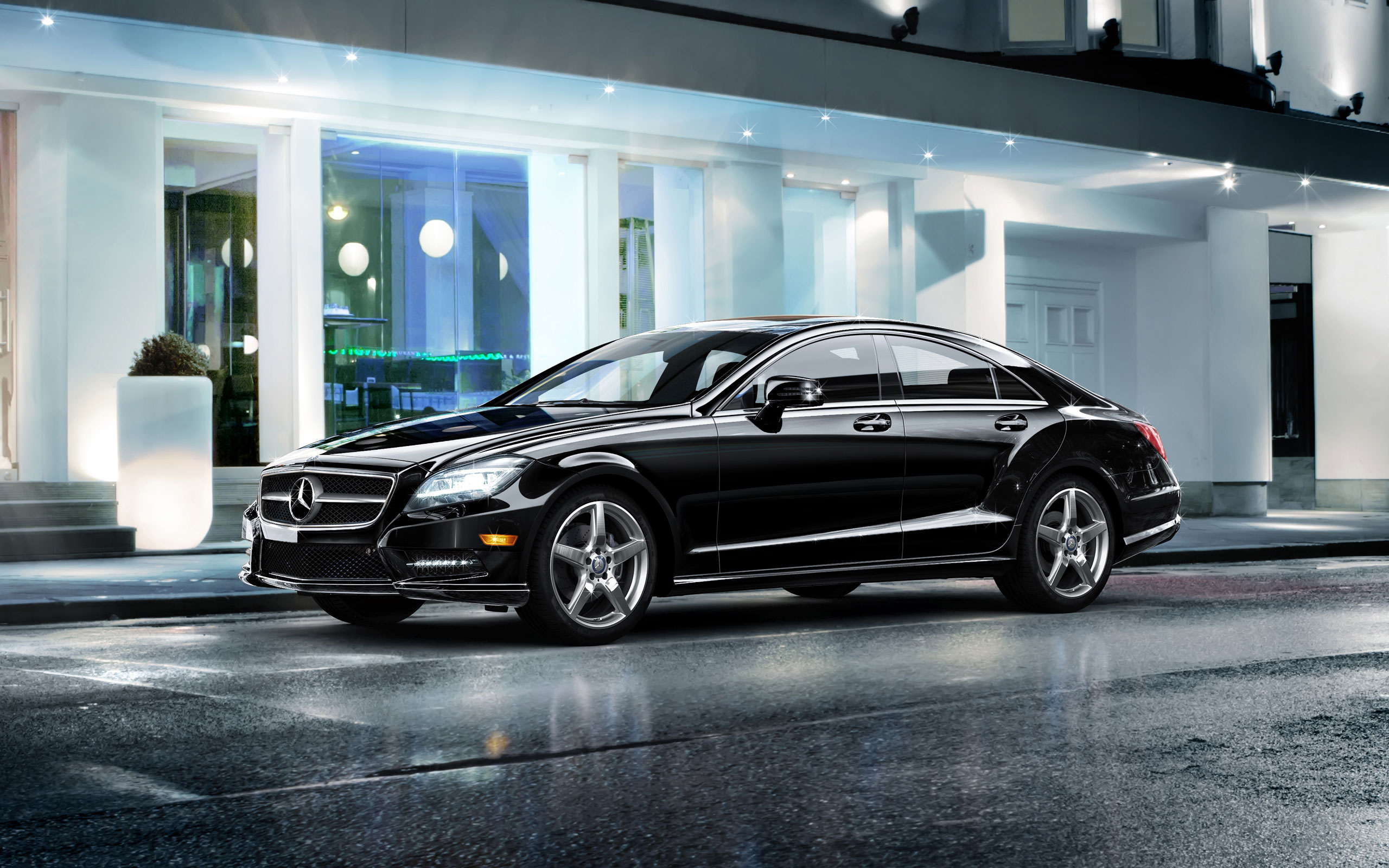 2014 Mercedes Benz Coupe Wallpapers Hd Wallpapers