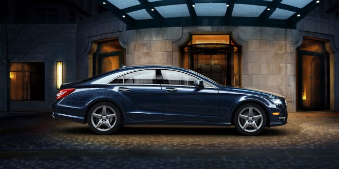2014-Mercedes-Benz-CLS550-Coupe-CLS-Class-blue-car-side-view