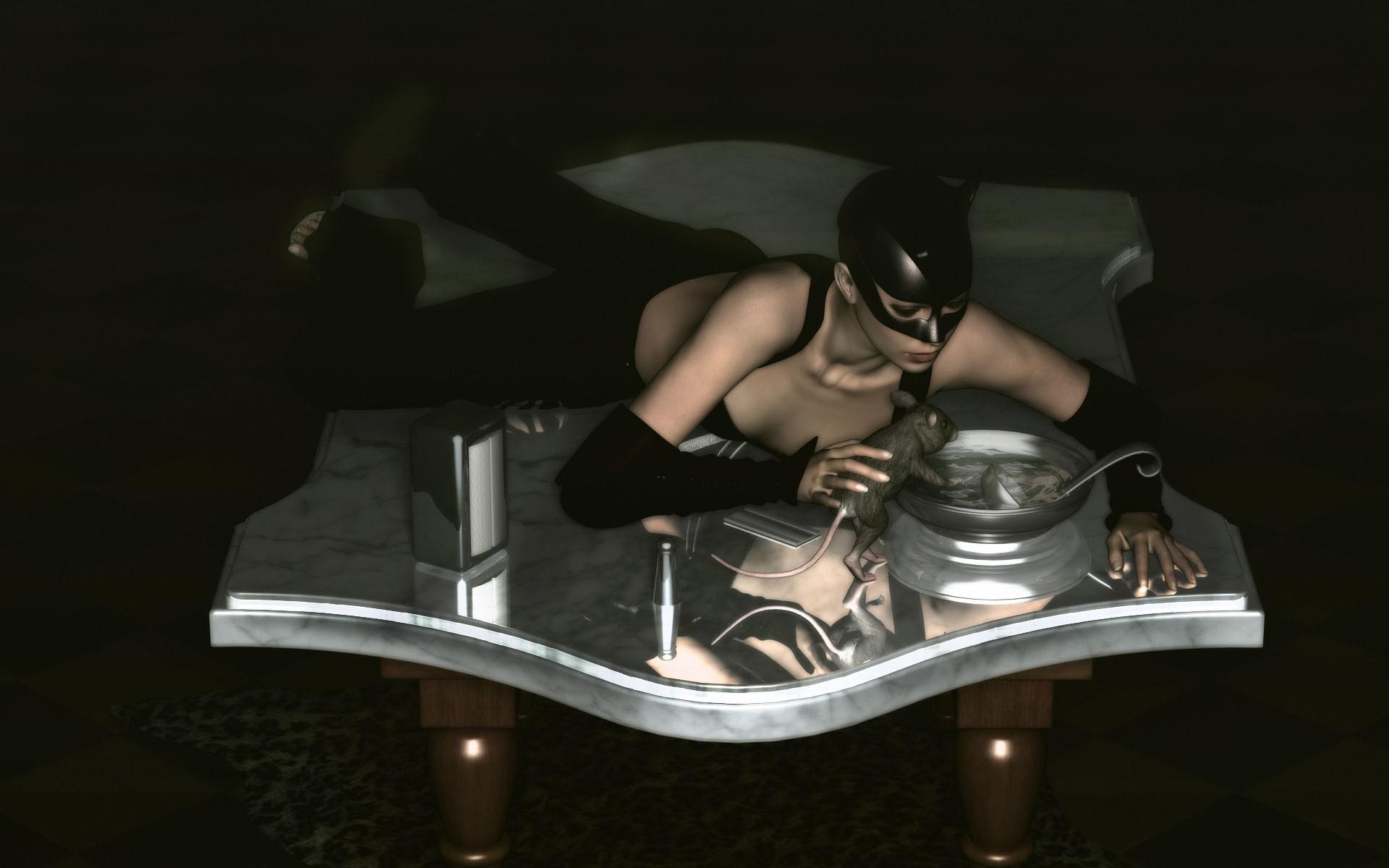3D Catwoman