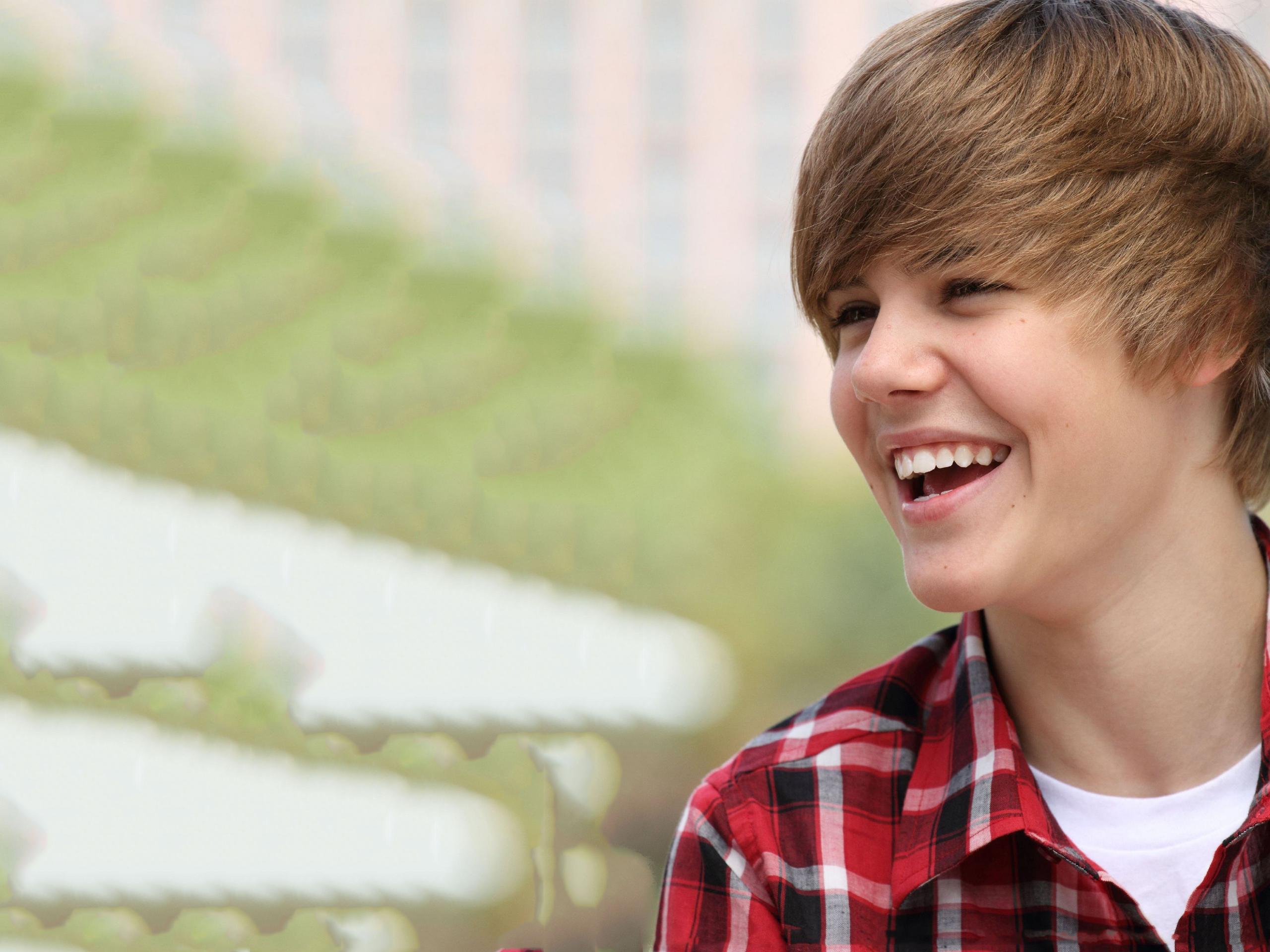 Justin Bieber at Easter Egg