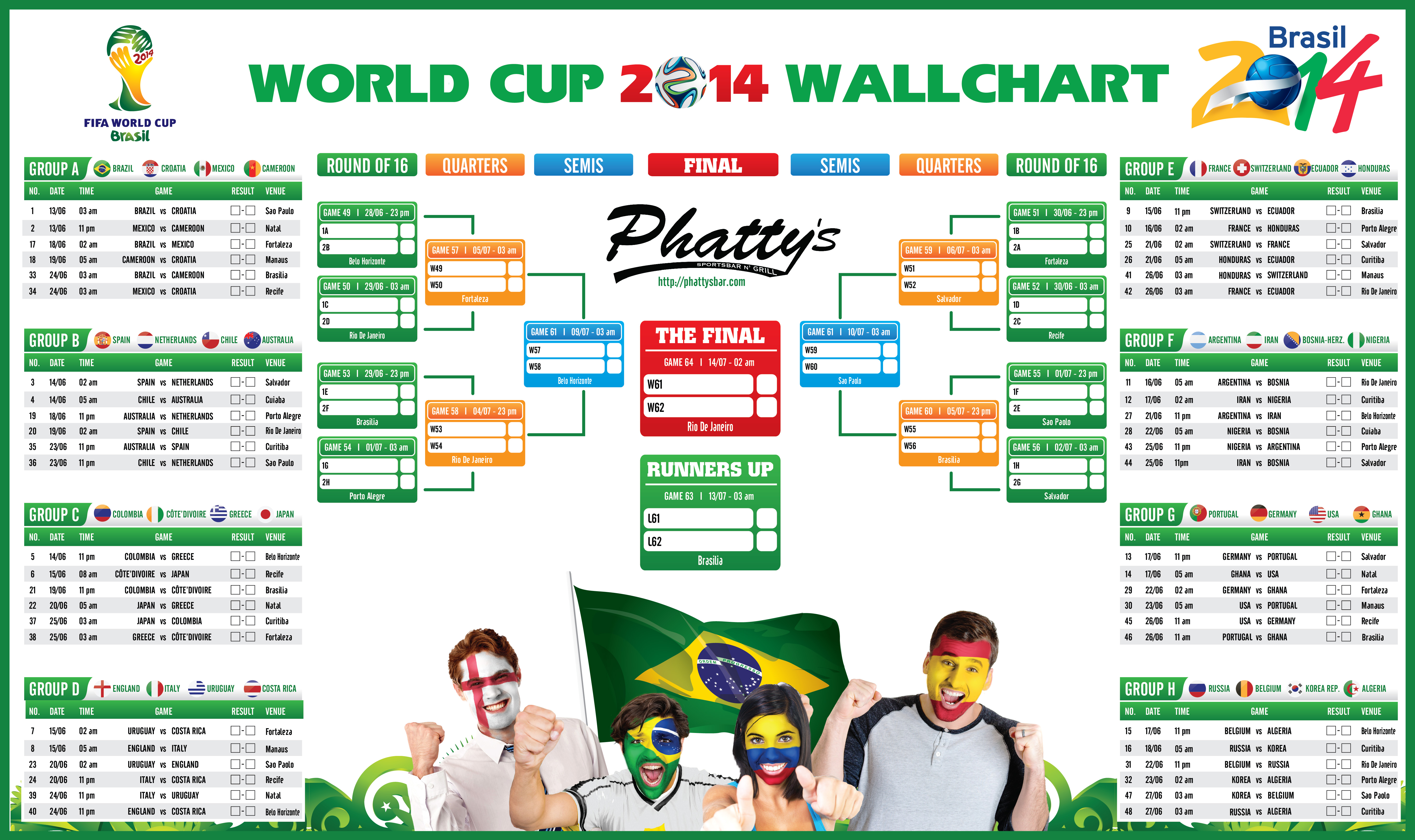 world cup dates