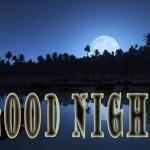 Good Night Saying