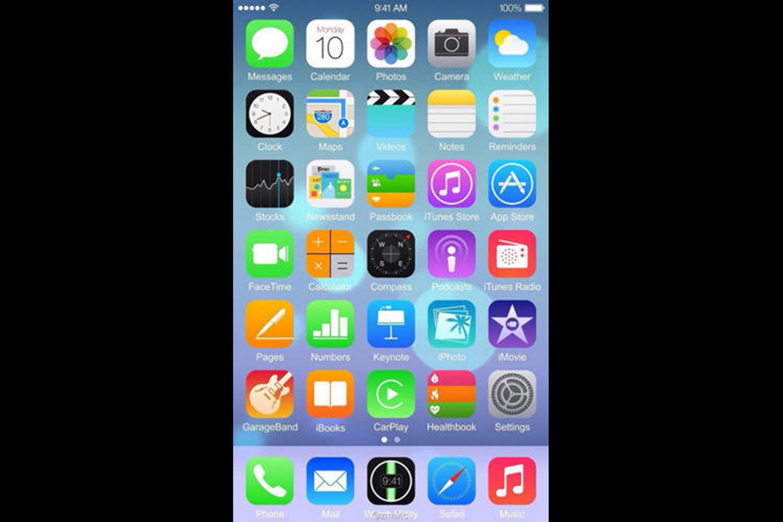 Как сделать на пол экрана на айфоне 7