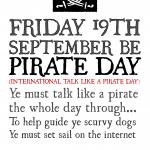 pirate talk
