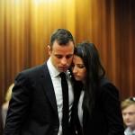 pistorius and his girlfriend