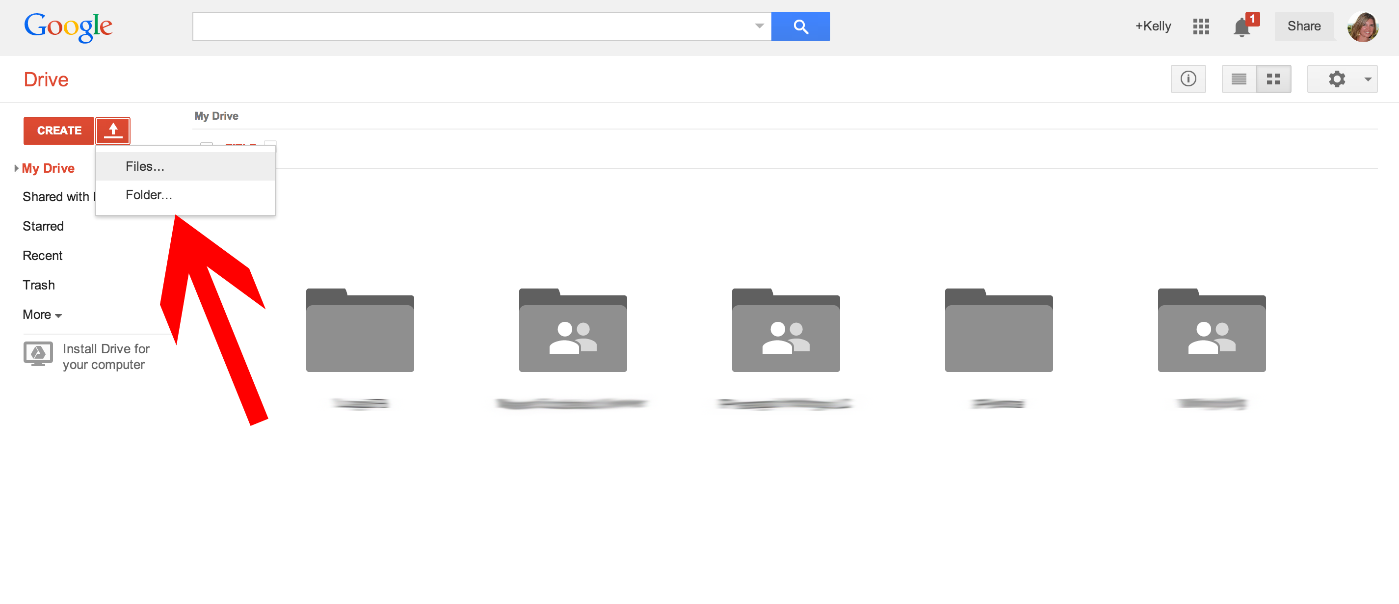 how to know who the google document is shared with
