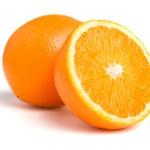one and half orange