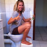 toilet squat stool