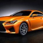 Lexus Rc F Yellow