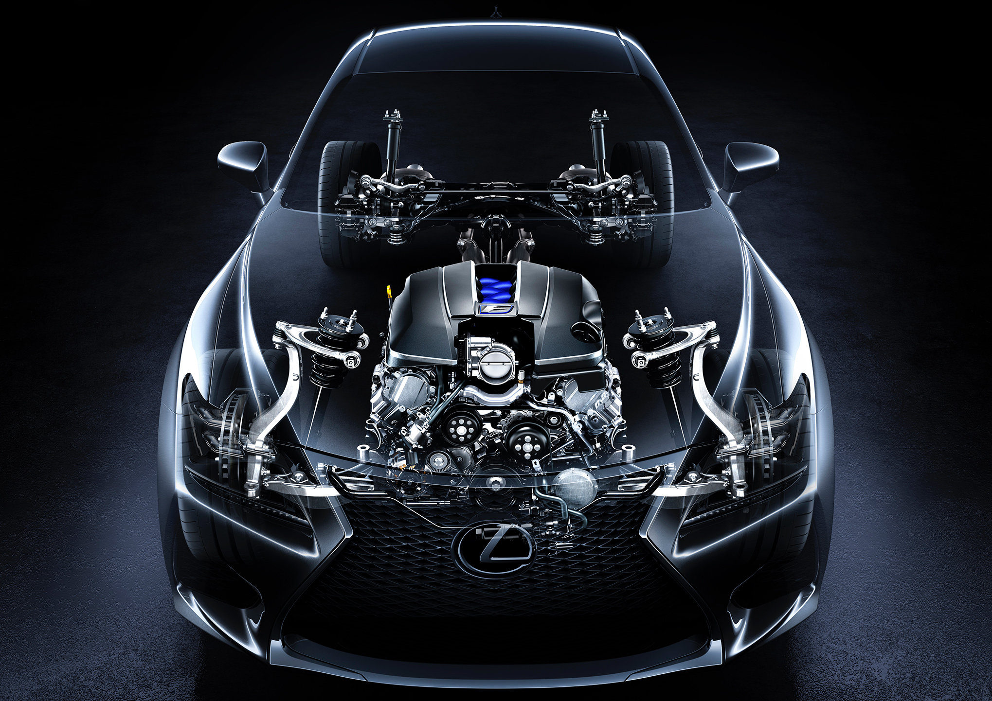 Lexus Rc F Interior  Hd Wallpapers