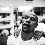 Floyd Mayweather Training Photo