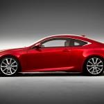 Lexus Rc F Red