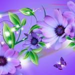 Landscapes Flowers Photo