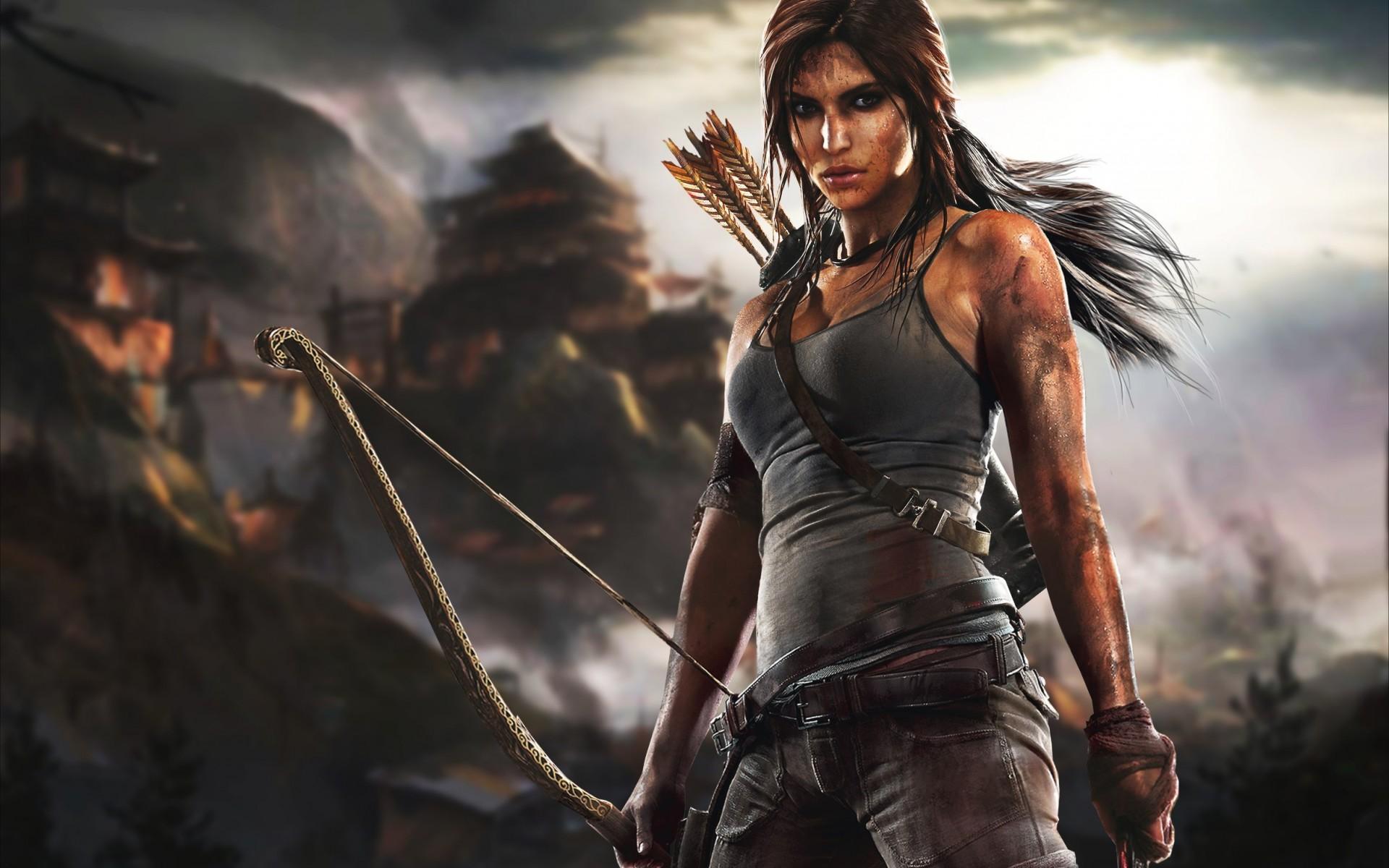 Lara Croft Adventure Wallpaper