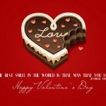 Happy Chocolate Day Valentines Day Wallpapers