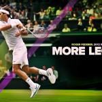 Amazing tennis star roger federer