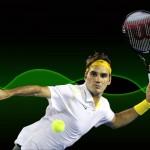 Awesome tennis star roger federer