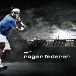 Most popular tennis player roger federer