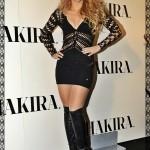 Shakira attends a