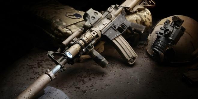 Assault rifle desktop wallpapers