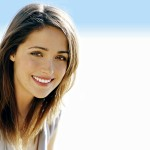 Beautiful smile of rose byrne hd wallpaper