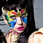 Colorful Make Up Lady Gaga Wallpaper HD