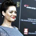 Famous French Hollywood Celebrity Actress Marion Cotillard with Red Lips HD Photo