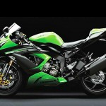 Kawasaki Ninja ZX 6R Side View Wallpaper