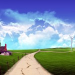 landscapes wallpaper country road