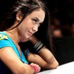 AJ Lee at Raw in Belgium