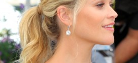 Cannes Reese Witherspoon Ponytail