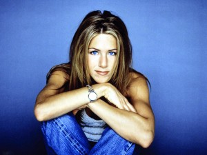 Jennifer Aniston Wallpaper Blue