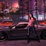car with girl best desktop wallpaper in hd wide-free
