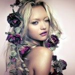 gemma ward beautiful hd wallpaper