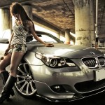 girl and car high resolution hd wallpaper for desktop wide free