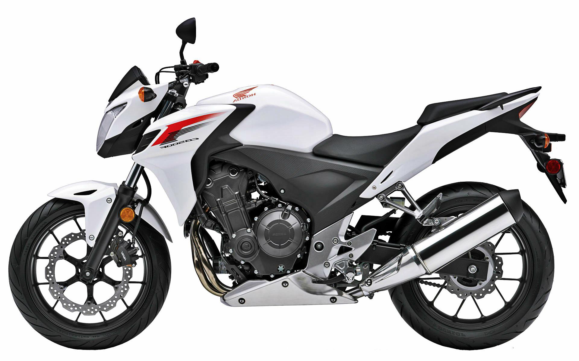 2015 Honda Cb500f White