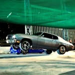 Chevrolet chevelle wheelstand in fast and furious the fast and furious movies